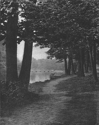 Des Plaines River Trail - The trail in 1922