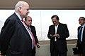 Desayuno de Trabajo del Sr. Canciller Ricardo Patiño con el Sr. Vicepresidente del Ecuador Lenin Moreno y José Miguel Insulza, secretario general de la OEA. (7171241462).jpg