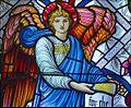 Designed by Edward Burne-Jones. From St. Mungo Museum of Religious Life & Art, Glasgow (6978622909).jpg