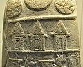 Detail, upper part, Kudurru of Ritti-Marduk, from Sippar, Iraq, 1125-1104 BCE. British Museum.jpg