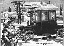 1912 Detroit Electric Adver