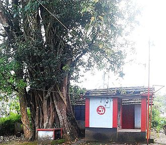 Devala, India - Bhajana Temple at School Road, Devala.