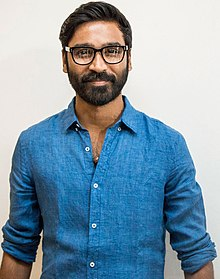 Dhanush at Mudinja Ivana Pudi Audio Launch.jpg