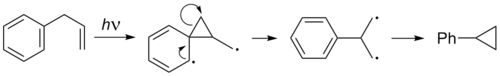 Di-p-methane rearrangement of allylbenzene.png