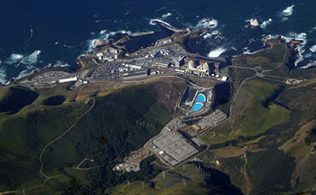 Diablo Canyon Power Plant, on the coast of Cal...