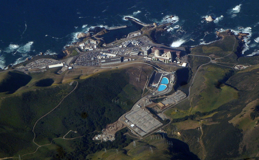 Diablo Canyon Power Plant in California, USA