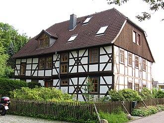 Diekholzen - Half-timbered house, Diekholzen.