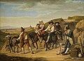 Dietrich Wilhelm Lindau - Bauern in Monte Mario auf dem Weg nach Rom (1826).jpg