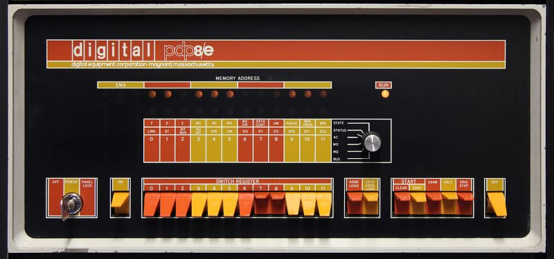 The PDP-8/e. Such a cool machine.