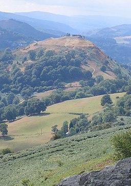 Dinas Bran - geograph.org.uk - 538429