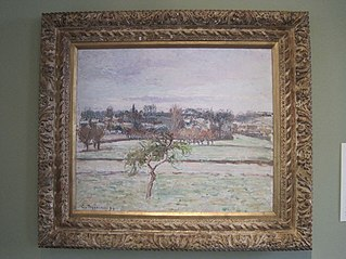 View From the Artist's Studio at Éragny