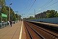 Dmitrovskaya MZD rail platform.jpg