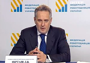 Dmytro Firtash - Firtash united Ukrainian employers