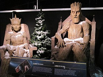 The Doctor, the Widow and the Wardrobe - The wood creatures, as they appear at the Doctor Who Experience.