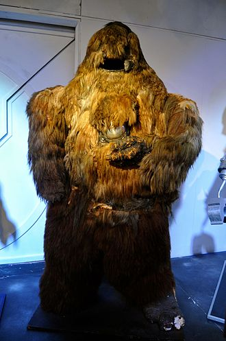 Yeti (Doctor Who) - The Yeti, on display at the Doctor Who Experience.