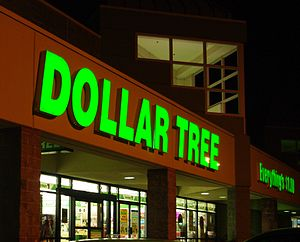 Dollar Tree - Exterior of a store in Hillsboro, Oregon