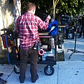 Dolly Grip breaks down a Steadicam-Southland on TNT ...it's a Wrap!.jpg