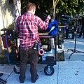 Dolly Grip breaks down a Steadicam-Southland on TNT ...it's a Wrap!.jpg