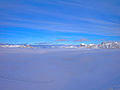 Dolomites and an ocean of clouds.jpg