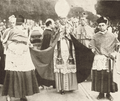 Dom Sebastião Leme (center) in funeral of Cardinal Arcoverde 1930.png