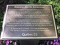 Domaine Joly-De Lotbinière - Plaque site et monument historique.jpg