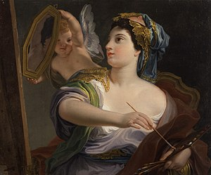 Domenico Corvi - Allegory of Painting