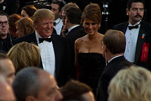 Donald Trump filmography - Donald Trump at the 83rd Academy Awards in 2011