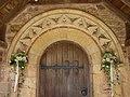 Doorway, St Michaels Church, Enmore (geograph 1986954).jpg