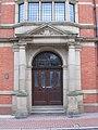 Doorway to County Hall in Cross Street - geograph.org.uk - 2259240.jpg