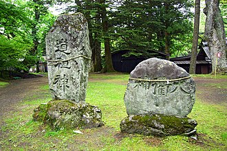 Dōsojin - The Dōsojin is on the left