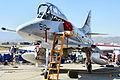 Douglas A-4 Skyhawk - Chino Airshow 2014 (22766613773).jpg