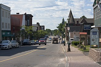 Amherst, Nova Scotia - Downtown Amherst, Nova Scotia in the morning
