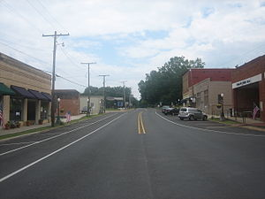 Gibsland, Louisiana - Downtown Gibsland