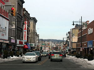 Downtown Paterson - Main Street in Paterson