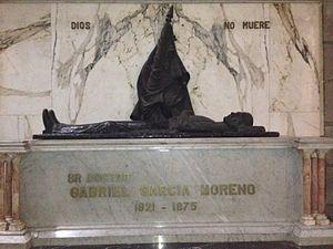 Gabriel García Moreno - Tomb of President Gabriel García Moreno