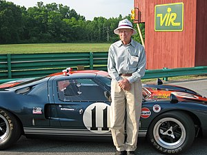 Dick Thompson (racing driver) - Dr. Dick Thompson in 2007