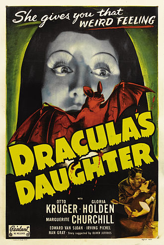 Dracula's Daughter - Theatrical poster