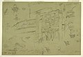 Drawing, Architectural Details of El Khasneh, Petra, late February 1868 (CH 18198739-2).jpg