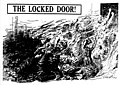 """Drawing """"The Locked Door!"""" refers to the Triangle fire and depicts young women throwing themselves against a locked door in an attempt to escape the flames. (5279750596).jpg"""