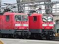 Dresden Hauptbahnhof DB 143952 and 143933.JPG