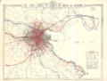 Dublin 1922-23 Map Suburbs MatureTrams wFaresTimes Trains EarlyBus Canals pub.png