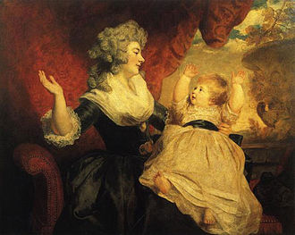 Eliza Courtney - Her mother with an elder sibling