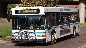 Duluth Transit Authority - Image: Duluth Transit Authority 265 closeup