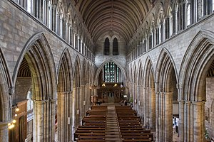Dunblane Cathedral - Image: Dunblane Cathedral interior 2017