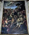 Duomo di colle, int., cappelle di sx, 04, altare San Marziale resuscita Austricliniano di Giovanni Paolo Melchiorri, 1694, 02.jpg