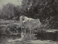 Dutch Painting in the 19th Century - Willem Maris - The White Cow.png