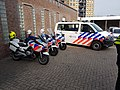 Dutch Police motorcycle, car with KMAR motorcycle 02.jpg