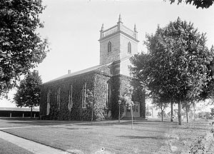 New Utrecht, Brooklyn - The New Utrecht Reformed Church at 18th Avenue and 84th Street, ca. 1899–1909