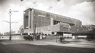 Warszawa Główna railway station - Image: Dworzec Główny wygląd w 1938