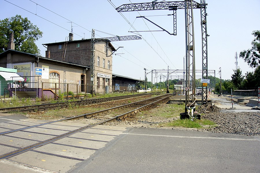 Poznań Starołęka railway station